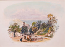 Load image into Gallery viewer, Entrance to Hastings - Antique Steel Engraving circa 1840