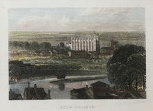 Load image into Gallery viewer, Eton College - Antique Steel Engraving circa 1851