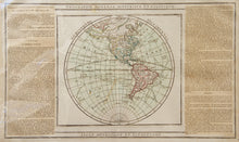 Load image into Gallery viewer, Geographie Moderne Historique et Politique - Antique Map of the Americas circa 1766