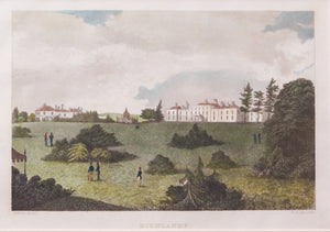 Highlands - Antique Steel Engraving, circa 1836