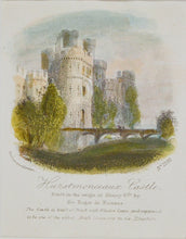 Load image into Gallery viewer, Hurstmonceaux Castle - Antique Steel Engraving circa 1870