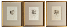 Load image into Gallery viewer, Trio of Mythological Roman & Greek Subjects - Antique Copper Engravings, circa 1804