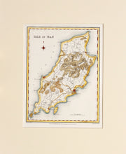 Load image into Gallery viewer, Isle of Man - Antique Map by J&C Walker circa 1831