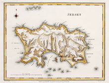 Load image into Gallery viewer, Jersey - Antique Map by J&C Walker circa 1831