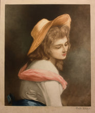 Load image into Gallery viewer, Lady Hamilton As Ariadne Mezzotint 1912