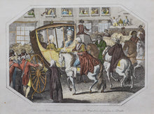 Load image into Gallery viewer, The Lord Mayor Presenting the City Sword - Antique Copper Engraving circa 1808