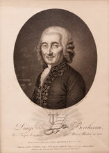 Load image into Gallery viewer, 'Luigi Boccherini' a Fine Stipple Engraving of the Composer circa 1806