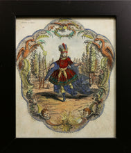 Load image into Gallery viewer, Madamoiselle La Montagne and Beaupre Copper Engravings circa 1780s