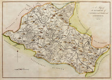 Load image into Gallery viewer, A Map of the Hundreds of Calehill and Chart and Longbridge - Antique Map circa 1778/90