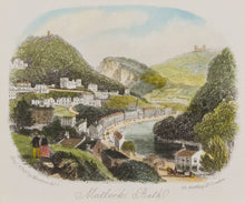 Load image into Gallery viewer, Matlock Bath - Antique Steel Engraving circa 1870