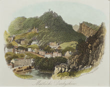 Load image into Gallery viewer, Matlock Derbyshire - Antique Steel Engraving circa 1870