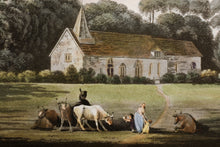 Load image into Gallery viewer, Merton Surrey Aquatint circa 1800