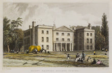 Load image into Gallery viewer, Mount Radford College Exeter - Antique Steel Engraving circa 1836