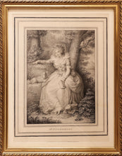 Load image into Gallery viewer, 'Mrs Fitzherbert' a Fine Stipple Engraving by John Conde circa 1792