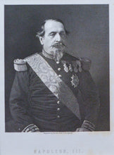 Load image into Gallery viewer, Napoleon III - Antique Steel Engraving circa 1860s