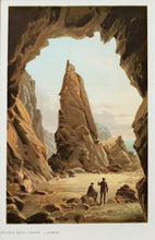 Load image into Gallery viewer, Needle Rock Cavern Jersey - Antique Chromolithograph circa 1880