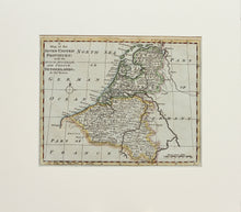 Load image into Gallery viewer, A Map of the Seven United Provinces - Antique Map of the Netherlands circa 1790