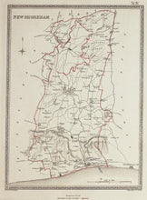 Load image into Gallery viewer, New Shoreham - Antique Map by J&C Walker circa 1835