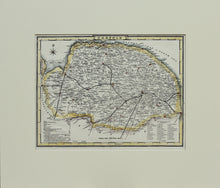 Load image into Gallery viewer, Norfolk - Antique Map for Dugdale, circa 1850