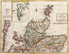 Load image into Gallery viewer, A New Map of the North Part of Scotland - Antique Map by A Johnston 1753