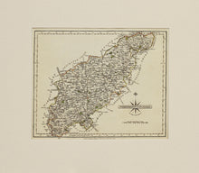 Load image into Gallery viewer, Northamptonshire - Antique Map by John Cary, circa 1783