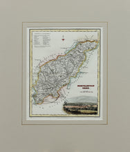 Load image into Gallery viewer, Northamptonshire - Antique Map by Fullarton circa 1850