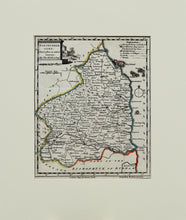 Load image into Gallery viewer, Northumberland - Antique Map by Thomas Kitchin circa 1748
