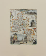 Load image into Gallery viewer, Oxfordshire - Antique Map by Thomas Moule circa 1842