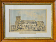 Load image into Gallery viewer, Parish Church Brighton - Antique Steel Engraving circa 1855