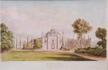 Load image into Gallery viewer, Pavilion Stables Garden Front - Antique Aquatint 1824