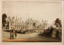 Load image into Gallery viewer, The Pavilion Brighton, West View - Aquatint circa 1835