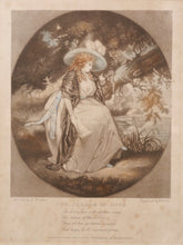 Load image into Gallery viewer, The Pledge of Love - Antique Mezzotint 1788