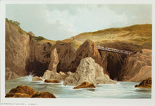 Load image into Gallery viewer, Plemont St Ouens Jersey - Antique Chromolithograph circa 1880