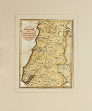 Load image into Gallery viewer, Portugal - Antique Military Map circa 1810