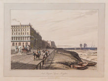 Load image into Gallery viewer, Near Regents Square Brighton - Antique Engraving 1823