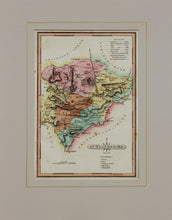 Load image into Gallery viewer, Rutlandshire - Antique Map by J Wallis circa 1814