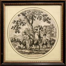 Load image into Gallery viewer, Satyr and Family Engraving published circa 1656