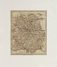 Load image into Gallery viewer, Shropshire - Antique Map by John Cary 1793