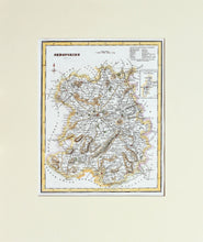 Load image into Gallery viewer, Shropshire - Antique Map by R Scott circa 1850