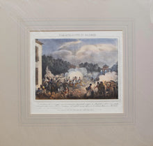 Load image into Gallery viewer, Sollevazione di Madrid - Antique Lithograph circa 1820
