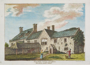 Somerford Grange Hampshire - Antique Copper Engraving 1784