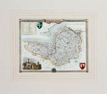 Load image into Gallery viewer, Somersetshire - Antique Map by Thomas Moule circa 1848