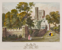 Load image into Gallery viewer, St Clare the Seat of Lord Vernon - Steel Engraving circa 1836