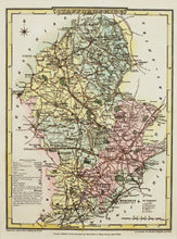 Load image into Gallery viewer, Staffordshire - Antique Map by J Roper, circa 1808