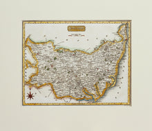 Load image into Gallery viewer, Suffolk - Antique Map by Neele circa 1819