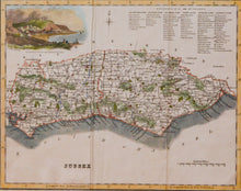 Load image into Gallery viewer, Sussex - Antique Map by Fullarton circa 1833