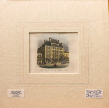 Load image into Gallery viewer, The Brighton Club and Norfolk Hotel - Antique Steel Engraving circa 1860