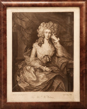 Load image into Gallery viewer, 'The Hon Mrs Watson' Mezzotint by T Park after Gainsborough 1880 1900
