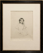 Load image into Gallery viewer, The Princess Victoria Soft Ground Etching circa 1830