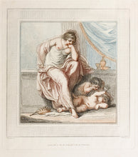 Load image into Gallery viewer, The Tragic Muse - Antique Engraving 1787